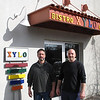 Record-Eagle/Bill O'Brien<br /> Xylo Bistro Cafe chef Matthew Walheim, left, and general manager Tom Grant will expand operations in the downtown's Warehouse District.