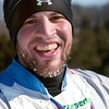Record-Eagle/Douglas Tesner<br /> Daniel Yankus of Commerce is all smiles, despite an icy beard after the White Pine Stampede.
