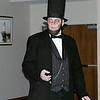 Record-Eagle/Lisa Perkins<br /> Joe Kilpatrick gave a living history of Abraham Lincoln performance at the Traverse Area District Library Sunday.