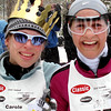 Record-Eagle/Denny Chase<br /> Carole Mueller-Brumbaugh, left, and Amy Kostrzewa both finished the 27K classic.