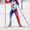 Record-Eagle/Jan-Michael Stump<br /> Leslie Taylor won the women's 40k race in the White Pine Stampede cross country ski race Saturday morning.