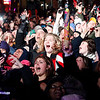 Record-Eagle/Jan-Michael Stump<br /> Crowds celebrate the New Year at the CherryT Ball drop in downtown Traverse City.