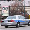 Record-Eagle Photo file photo/Art Bukowski<br /> A Traverse City Police Department car sits outside Collective Inc. on State Street on Dec 13.