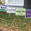Record-Eagle file photo/Jan-Michael Stump<br /> Campaign signs on lawns in Traverse City.