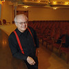 Record-Eagle/Keith King<br /> Michael Nunn, of Traverse City, stands at the City Opera House. Nunn will be narrating an upcoming Traverse Symphony Orchestra educational outreach program.