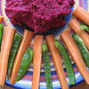 Record-Eagle/Jodee Taylor<br /> Roasted Beet Hummus makes a great after-school or pre-dinner snack.