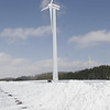 Record-Eagle file photo<br /> Traverse City Light & Power's wind turbine on M-72.