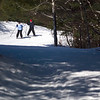 Record-Eagle/Jan-Michael Stump<br /> Lois and Steve Bruce make their way down the Vasa Pathway during Saturday's Winter Trails Day. The two were in a group taught by Vasa Ski Club member Mike Tarnow.