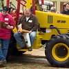 Record-Eagle/Jan-Michael Stump<br /> Jay Budd, left, and Jeremiah Warren of Mutual Farm Management read through brochures at the 2010 Orchard & Vineyard Show Tuesday at the Grand Traverse Resort & Spa in Acme.