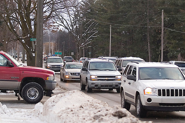 Record-Eagle file photo/Jan-Michael Stump<br /> Division Street, seen here near Eleventh Street in Traverse City.