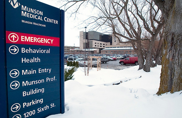 Record-Eagle/Douglas Tesner<br /> Munson Medical Center in Traverse City.
