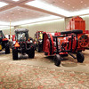 Record-Eagle file photo/Douglas Tesner<br /> Farm equipment is displayed during the 2009 Northwest Michigan Orchard and Vineyard show.