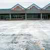 Record-Eagle/Douglas Tesner<br /> Vacant showrooms abound in Preferred Outlets on U.S. 31 North in Garfield Township. Hush Puppies, Izod and Van Heusen closed their doors two weeks ago.