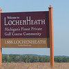 Record-Eagle/Douglas Tesner<br /> The LochenHeath golf and residential complex in Acme is delinquent on its 2007 taxes. Its 121 parcels will be foreclosed in April if those bills aren't paid.