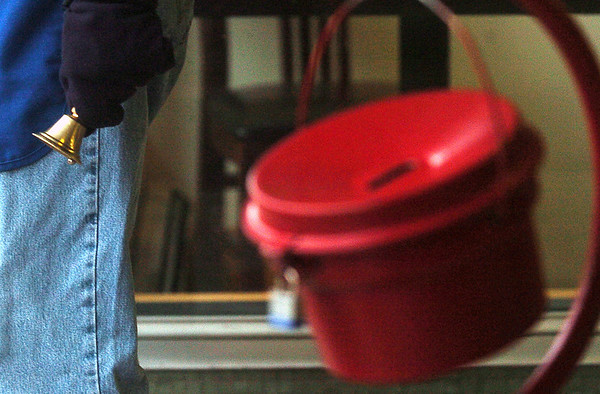 Record-Eagle file photo<br /> The Salvation Army's Red Kettle Campaign raised $166,000 this holiday season, beating its goal by almost 30 percent.