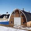 Record-Eagle/Jan-Michael Stump<br /> Cherryland Electric Co-Op has pledged $22,000 in energy optimization funds to be used for heat pumps in the Cathedral Barn at the Village at Grand Traverse Commons so it can be used for community events such as weddings and concerts.