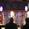 Record-Eagle/Keith King<br /> Beer taps are visible at the bar at 7 Monks Taproom in downtown Traverse City.