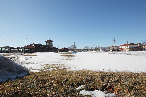 Record-Eagle/Keith King<br /> This depot-area property could turn into affordable housing.