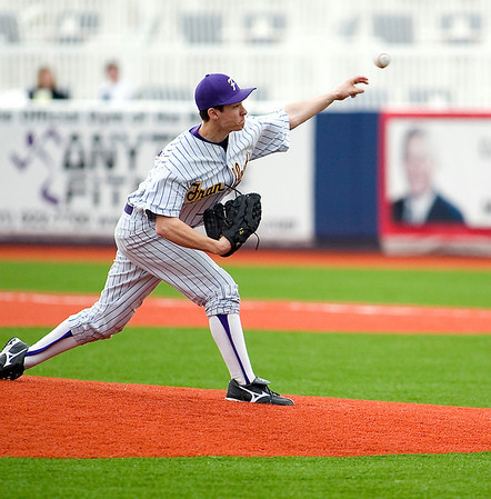 Record-Eagle file photo/Jan-Michael Stump<br /> Frankfort's Kyle Zimmerman has been named to the 2010 Louisville Slugger Pre-Season High School All-American team.