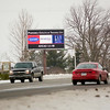 Record-Eagle/Jan-Michael Stump<br /> Blair Township won a lawsuit to turn off this LED billboard on U.S. 31, near Rennie School Road.
