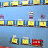 Record-Eagle/Douglas Tesner<br /> Troy Greene looks over the alphabet in his all-day kindergarten class at Courtade Elementary. Traverse City Area Public Schools is considering adding all-day, every-day kindergarten to all elementary schools next year. Students at Courtade already have the full-time program.