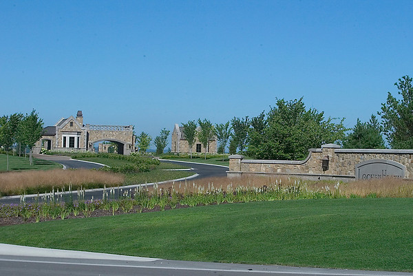 Record-Eagle file photo/Douglas Tesner<br /> The LochenHeath golf and residential complex in Acme.