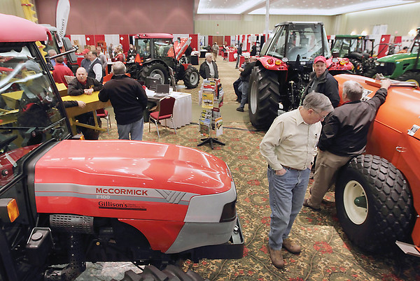 Record-Eagle file photo/Keith King<br /> Attendees take part in the 2011 Northwest Michigan Orchard & Vineyard Show last year at the Grand Traverse Resort & Spa in Acme.