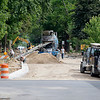 Record-Eagle/Jan-Michael Stump<br /> Construction continues on Elmwood Avenue near West Front Street on Thursday morning.