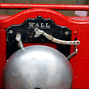 Record-Eagle/Jan-Michael Stump<br /> The bell on the Traverse City Fire Department's antique horse-drawn fire engine.