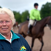 Record-Eagle/Douglas Tesner<br /> Karin Flint, a Harbor Springs native, purchased the land that was developed into Flintfields Horse Park, the site of the annual Horse Shows By The Bay.