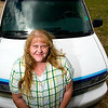 Record-Eagle/Jan-Michael Stump<br /> Anne Lott uses a 2000 Chevy Astro she received through the Workers on Wheels program to drive her 11-year-old daughter Bailey to Ann Arbor every couple months for medical treatment.