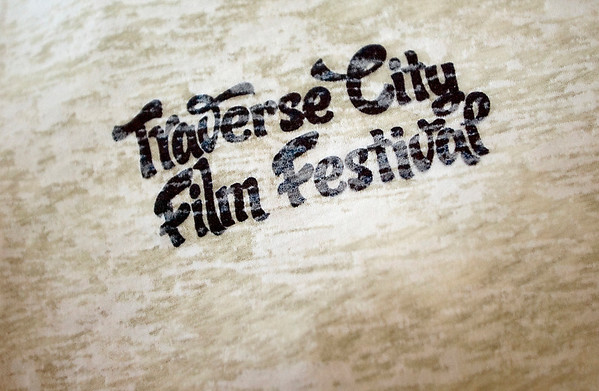 Record-Eagle/Jan-Michael Stump<br /> A T-shirt for the 5th annual Traverse City Film Festival.
