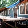 Record-Eagle/Douglas Tesner<br /> Green Lake Township has declared this home that was foreclosed on a dangerous structure.