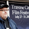 Record-Eagle file photo/Douglas Tesner<br /> Filmmaker and Traverse City Film Festival founder Michael Moore speaks during a press conference about the 2005 festival.