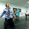 "Record-Eagle/Jan-Michael Stump<br /> Trevor Kolle as Fabrizio and other cast members rehearse for ""The Light in the Piazza"" at Ballet Etc."