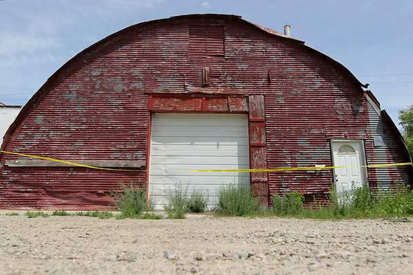 Record-Eagle/Keith King<br /> A vacant building along the 700 block of Beitner street, seen here Wednesday, is where Traverse City police believe Carly Lewis was killed.