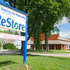 Record-Eagle/Jan-Michael Stump<br /> Habitat for Humanity in Benzie County opened its ReStore with a lot of donated stock.