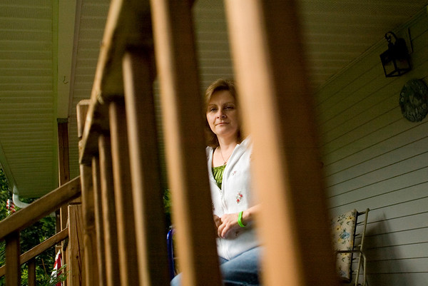 Record-Eagle/Jan-Michael Stump<br /> Dawn Brown has been battling Lyme Disease since 2007.