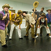 """Record-Eagle/Jan-Michael Stump<br /> Cast members rehearse for Miracle Productions' """"Joseph and the Amazing Technicolor Dreamcoat."""""""