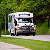 Record-Eagle/Jan-Michael Stump<br /> A BATA bus on Grand Traverse Mall Route 1 heads North on Veterans Drive on Wednesday afternoon.