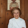 Record-Eagle file photo/Loraine Anderson<br /> Helen Tanner at her home in 2009. The painting behind her was done by a friend in the 1930s.