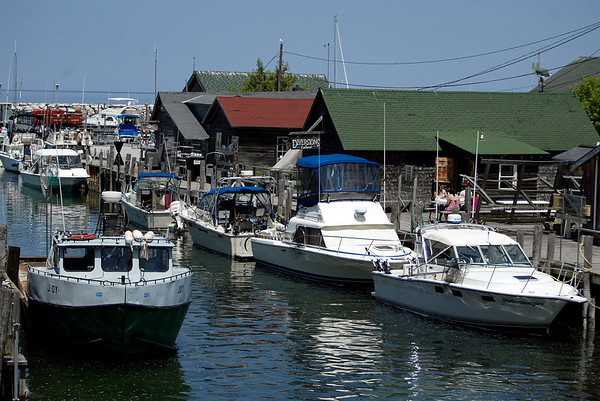 Record-Eagle/ Jan-Michael Stump<br /> Fishtown in Leland.