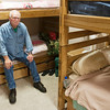 Record-Eagle/Douglas Tesner<br /> Ken Renaudo has stayed at the Goodwill Inn homeless shelter for 60 days. His name is on waiting lists for affordable housing. Goodwill Industries of Northern Michigan is working with local nonprofit housing developer HomeStretch to build Keystone Village, which will include 24 subsidized apartment units.