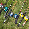 Record-Eagle/Jan-Michael Stump<br /> Rods and reels sit waiting to be used.