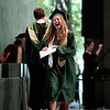 Record-Eagle/Jan-Michael Stump<br /> Traverse City West graduate Andrea Long laughs after receiving her diploma during commencement Sunday at the Interlochen Center for the Arts.