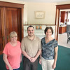Record-Eagle/Keith King<br /> Patty Wade, from left, women's care coordinator, Christopher Hindbaugh, executive director and Susan Kramer-Bagby, clinical director, stand at Addiction Treatment Services Phoenix Hall in Traverse City.