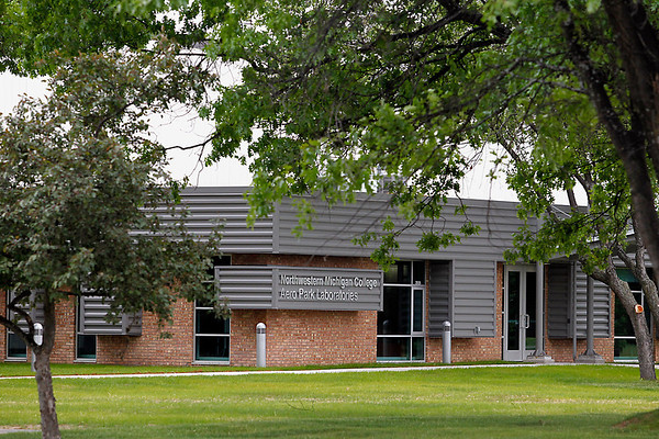 Record-Eagle/Jan-Michael Stump<br /> Northwestern Michigan College purchased the Acra building in early 2010 and has turned it into the school's Aero Park Laboratories.