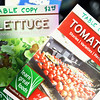 Record-Eagle/Vanessa McCray<br /> Booklets on lettuce and tomatoes are just two of the topics of food books offered for sale by Learn Great Foods.