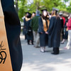 Record-Eagle/Douglas Tesner<br /> High schools across the area, including Traverse City Central High School, celebrate their commencement this weekend.