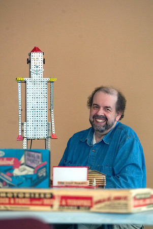 Record-Eagle/Jan-Michael Stump<br /> Leon Vietzke's vintage toys will be on display at the Grand Traverse Heritage Center March 19-21.